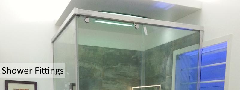 S P I D B O L T Shower Glass Fitting